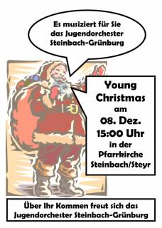 Young Christmas Plakat